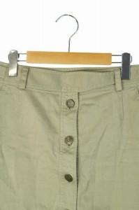 マークジェイコブス MARC JACOBS スカート ミニ 台形 フロントボタン 4 ベージュ レディース ベクトル【中古】