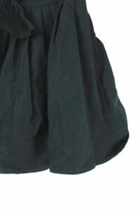 ジルスチュアート JILL STUART スカート ギャザー ミニ ドット リボン 2 紺 /Y★ レディース ベクトル【中古】