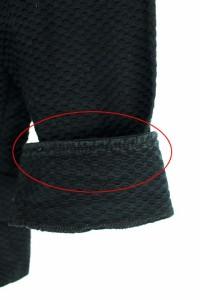 スーナウーナ Sunauna ジャケット テーラード 七分袖 38 黒 レディース