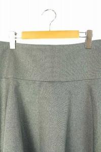 アドーア ADORE スカート ミニ フレア ラメ 38 グレー レディース ベクトル【中古】