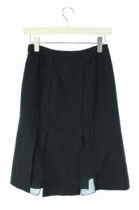 プロポーション ボディドレッシング PROPORTION BODY DRESSING スカート ひざ丈 台形 2 黒 レディース ベクトル【中古】