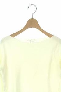 エムプルミエ M-Premier ニット セーター ボートネック 長袖 36 白 レディース ベクトル【中古】