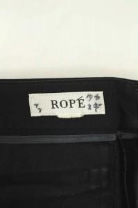 ロペ ROPE パンツ クロップド 黒 レディース