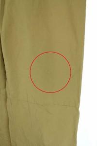 アダムエロペ Adam et Rope' パンツ 裾リボン 36 ベージュ /HA レディース ベクトル【中古】