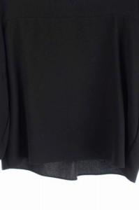 アンナケリー Anna Kerry カットソー プルオーバー 七分袖 38 黒 /DF ■AC レディース ベクトル【中古】
