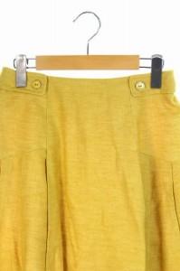 フェアリーシェード FAIRY SHADE スカート 膝丈 フレア 2 黄 /DF ■AC レディース ベクトル【中古】