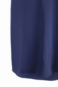 ジータ GHITA ワンピース ひざ丈 ノースリーブ Vネック 38 青 /YS ■AC レディース ベクトル【中古】