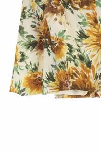ジュエルチェンジズ Jewel Changes アローズ パンツ キュロット スカート 花柄 36 白 /HA ■AC レディース ベクトル【中古】