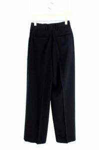 ユナイテッドアローズ UNITED ARROWS パンツ スラックス シルク 36 黒 /YS ■AC レディース ベクトル【中古】