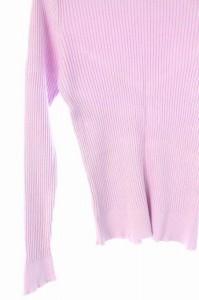 リアラ Reala ニット カットソー 長袖 ハイネック 38 紫 /AA ■AC レディース ベクトル【中古】
