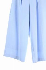 リアラ Reala パンツ ワイド クロップド 38 水色 /HA ■AC レディース ベクトル【中古】