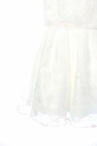 スナイデル snidel ワンピース レイヤード 調 レース ドレス パーティー ひざ丈 0 白 /JJ レディース ベクトル【中古】