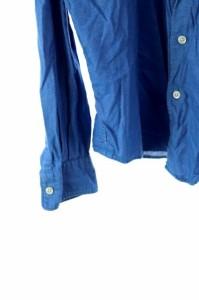 アーバンリサーチ ドアーズ URBAN RESEARCH DOORS シャツ カジュアル 長袖 38 青 /DF メンズ ベクトル【中古】