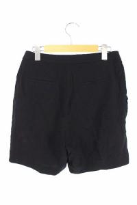 ノット KNOTT トゥモローランド パンツ ショート タック 1 黒 /HA レディース