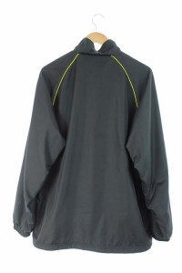 フィラ FILA ジャケット ジップアップ ウインドブレーカー L 黒 /AA メンズ ベクトル【中古】