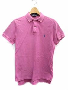 ポロ バイ ラルフローレン Polo by Ralph Lauren ポロシャツ 半袖 XS 紫 /DT ● メンズ ベクトル【中古】