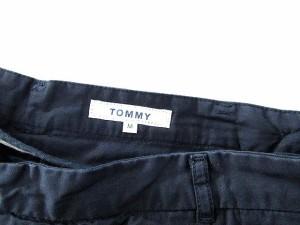 トミー TOMMY パンツ ロング サイドジップ ストレート M 紺 /FM56 メンズ ベクトル【中古】