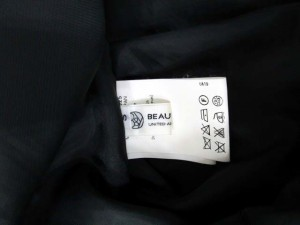 B&Y ユナイテッドアローズ BEAUTY&YOUTH UNITED ARROWS スカート プリーツ ひざ丈 F グレー /KA32 レディース ベクトル【中古】