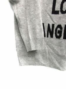 スピック&スパン Spick&Span ニット セーター アンゴラ混 長袖 グレー /SN24 ● レディース ベクトル【中古】
