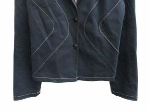 ホコモモラ JOCOMOMOLA ジャケット テーラード 背抜き 40 紺 /NT ● レディース ベクトル【中古】