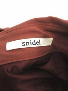 スナイデル snidel ワンピース ひざ丈 ノースリーブ F 茶 /NT ● レディース ベクトル【中古】