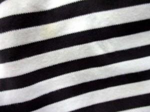 ポールスミスジーンズ Paul Smith JEANS カットソー プルオーバー ボーダー 七分袖 M 白 グレー /DH13 ● レディース ベクトル【中古】