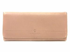 c132e18cdffd プラダ PRADA 長財布 二つ折り サフィアーノレザー ピンク /OG7 □CA レディース ベクトル【中古】