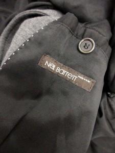 ニールバレット Neil Barrett ジャケット スタンドカラー ウール混 XS チャコールグレー /NT35 ■CA レディース ベクトル【中古】