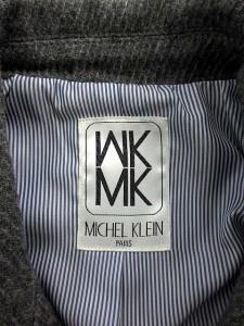 4c51f892466c エムケー ミッシェルクラン MK MICHEL KLEIN ピーコート Pコート ショート ウール 38 グレー /KH □CA27 レディース