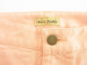 スピック&スパン ノーブル Spick&Span Noble パンツ ストレート 無地 34 ピンク /ry レディース ベクトル【中古】