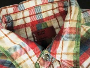 リーバイス レッドタブ Levi's RED TAB シャツ ウエスタン チェック M 赤 レッド /mm メンズ ベクトル【中古】