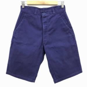 ダントン DANTON ハーフパンツ ワークパンツ コットン 青 ブルー 36 メンズ ベクトル【中古】