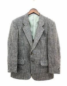 ハリスツイード Harris Tweed ジャケット テーラード ツイード グレー /kf メンズ ベクトル【中古】