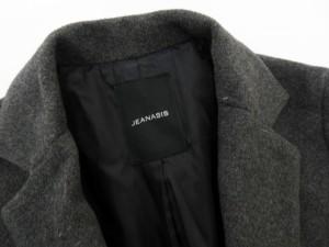ジーナシス JEANASIS コート チェスター 2ボタン ウール混 F グレー /ms レディース ベクトル【中古】