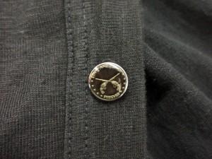 ロアー roar カーディガン Vネック 薄手 リネン 1 黒 ブラック /yy メンズ