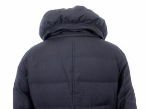 プラステ PLST コート スタンドカラー ダウン ベルト 2 紺 ネイビー /yy レディース ベクトル【中古】