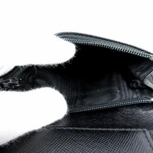 35175e4ba816 プラダ PRADA 財布 二つ折り 小銭入れ M667 ナイロン ブラック 黒 レディース