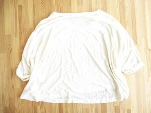ヘザー Heather 七分袖 ワイド Tシャツ カットソー ロールアップ 無地 F アイボリー レディース/r15 vgp6 レディース ベクトル【中古】