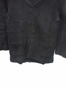 フレディ エミュ fredy emue ジャケット ノーカラー リボン 38 黒 /KS レディース ベクトル【中古】