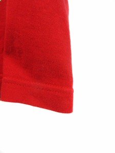 スワッガー SWAGGER Tシャツ 半袖 クルーネック プリント L 赤 /OM メンズ ベクトル【中古】