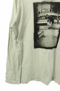 アールニューボールド R.NEWBOLD カットソー 長袖 ストライプ XL グレー /HY  レディース ベクトル【中古】