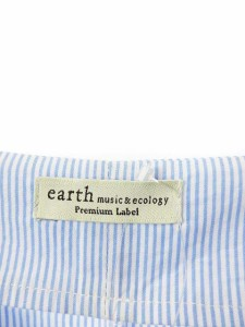 earth music ecology premium label ワンピース ロング 七分袖