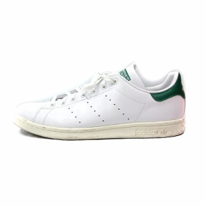 a64297a6cbb860 【中古】アディダスオリジナルス adidas originals スタンスミス スニーカー シューズ 28.5 白 ホワイト 緑