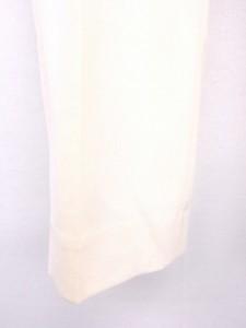 セオリーリュクス theory luxe パンツ スラックス テーパード 無地 ロング丈 ウール 40 ホワイト 白 /FT5 レディース ベクトル【中古】