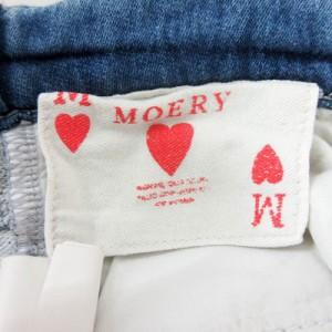 0f268e8991a4a モエリー MOERY パンツ デニム ジーンズ スキニー XS-S 水色  MF レディース