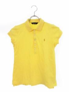 67f35930d5b2c ラルフローレン RALPH LAUREN 子供服 キッズ ポロシャツ 半袖 ロゴ 160 黄 イエロー 国内正規