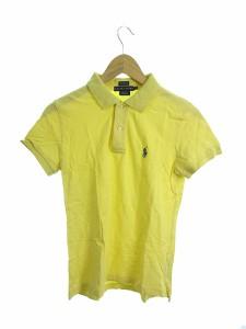 eb68258be0582 ラルフローレン RALPH LAUREN ポロシャツ 半袖 刺繍 M 黄色 イエロー  N3N27 レディース ベクトル 中古