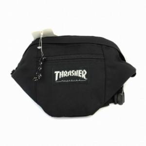 スラッシャー THRASHER バッグ ボディー ウエスト ナイロン 黒 ブラック メンズ/レディース/ユニセックス