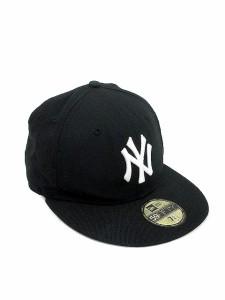 ニューエラ NEW ERA 帽子 キャップ ウール 57.7 黒 ブラック  ST メンズ ベクトル 中古  7427531352fd