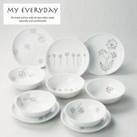 My Everyday マイエブリデー マルチ10Pセット(楕円ボウル×5&プレート×5) 28678